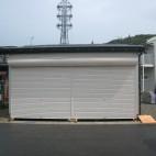 片野町 S様邸 車庫新築工事 施工事例写真